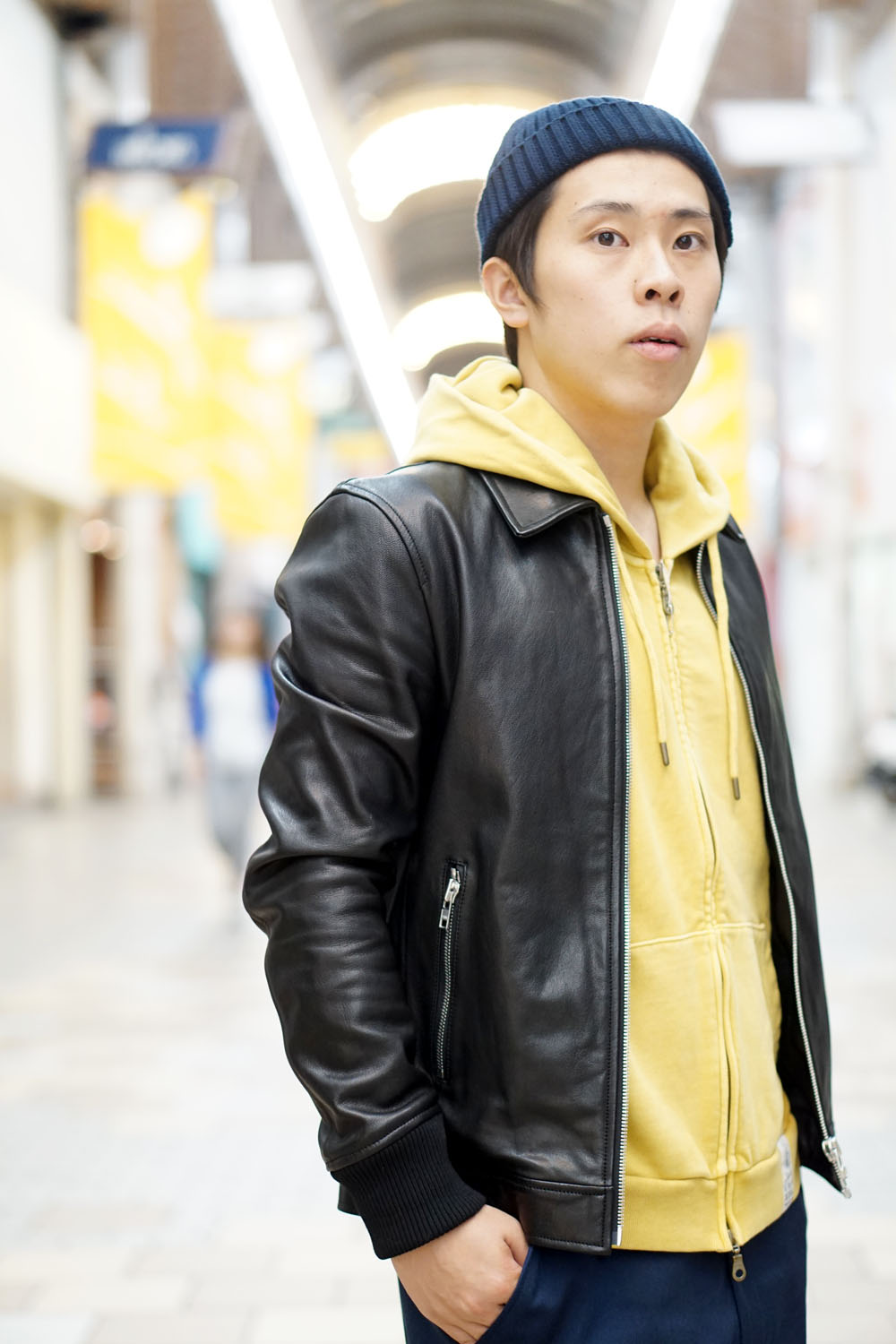 und☆star RIGINAL LEATHER JACKET