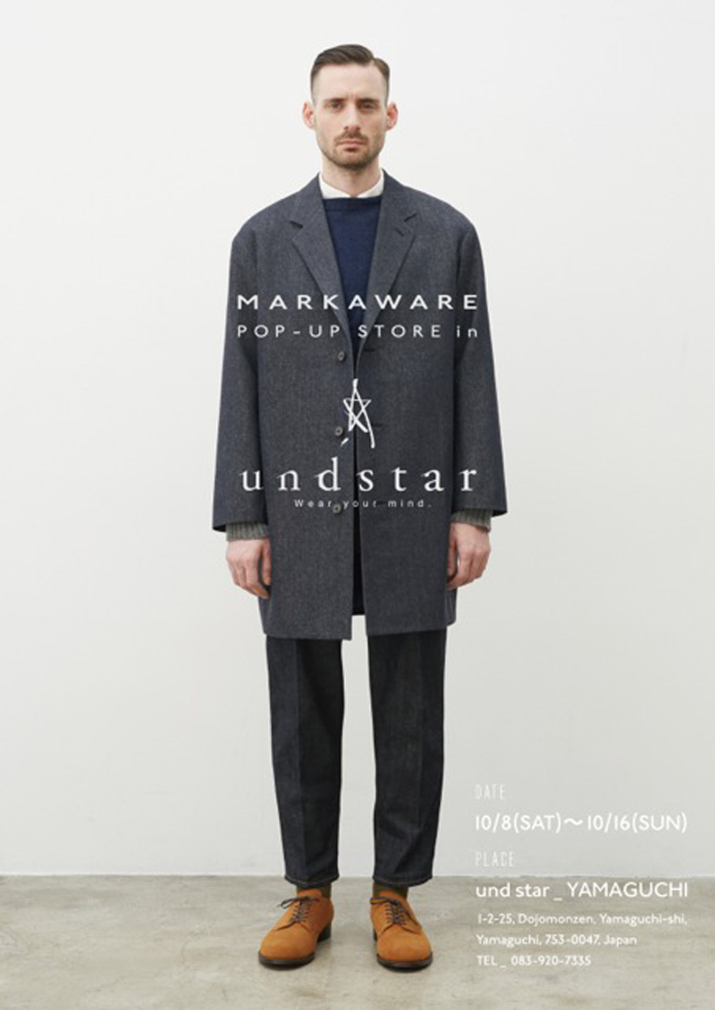 MARKAWARE POP UP STORE開催!!